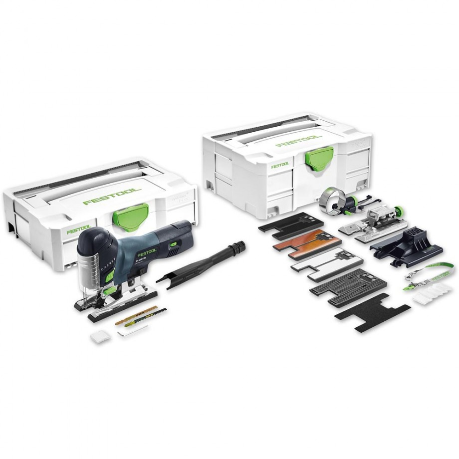 Festool PS 420 EBQ Set Jigsaw - Body Grip 230V