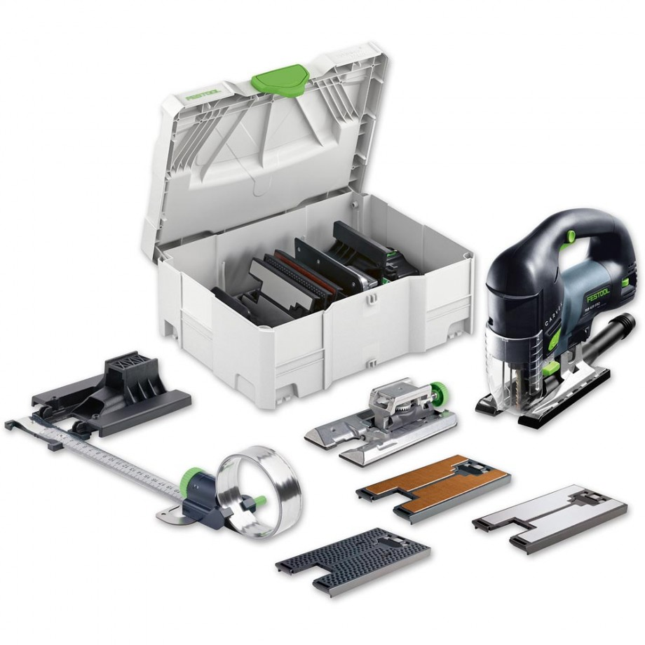 Festool PSB 420 EBQ-Set Jigsaw - Bow Grip 230V