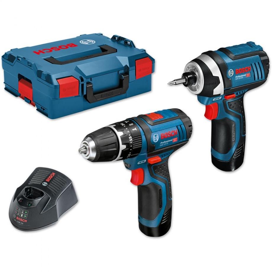 bosch 12v tools. bosch gsb 12v-15 cordless combi \u0026 gdr 12v-105 impact driver 10.8v 12v tools s