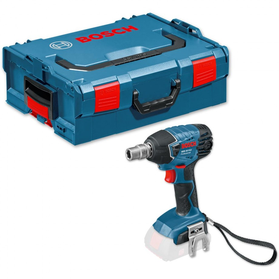 Bosch GDS 18 V-LI Cordless Impact Wrench in L-Boxx 18V (Body Only)