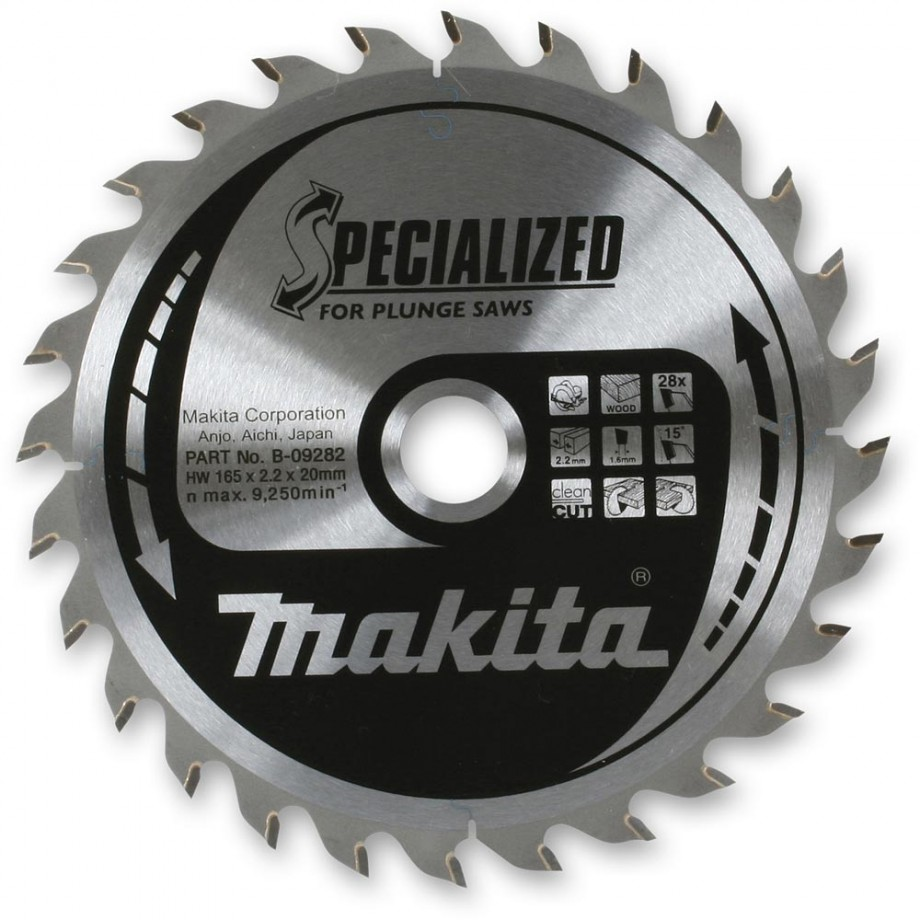 Makita 'Specialized' TCT Plunge Saw Blade 48T