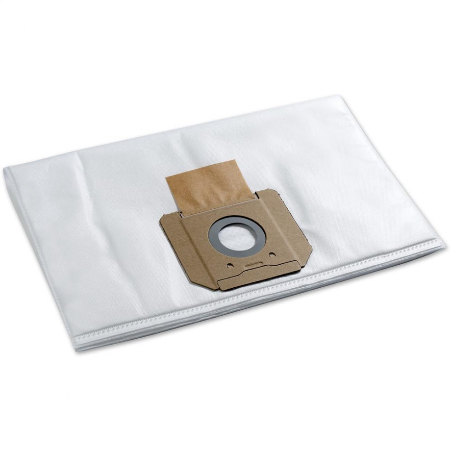 Bosch Fleece Filter Bags for GAS 55  M Extractor (Pkt 5)