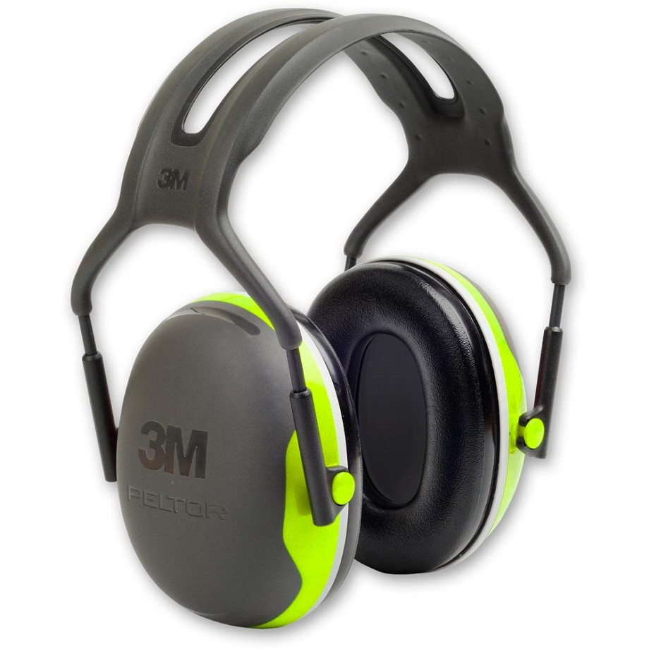 3M Peltor X4A Ear Defender 33dB Hi-Vis