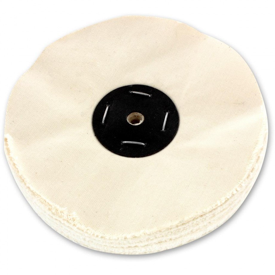 Shesto Polishing Mop Looseleaf Grade B - 200 x 25mm