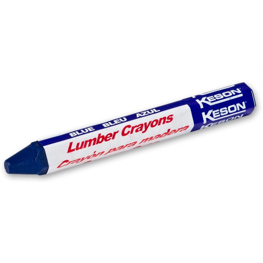 Keson Timber Marking Crayon - Blue