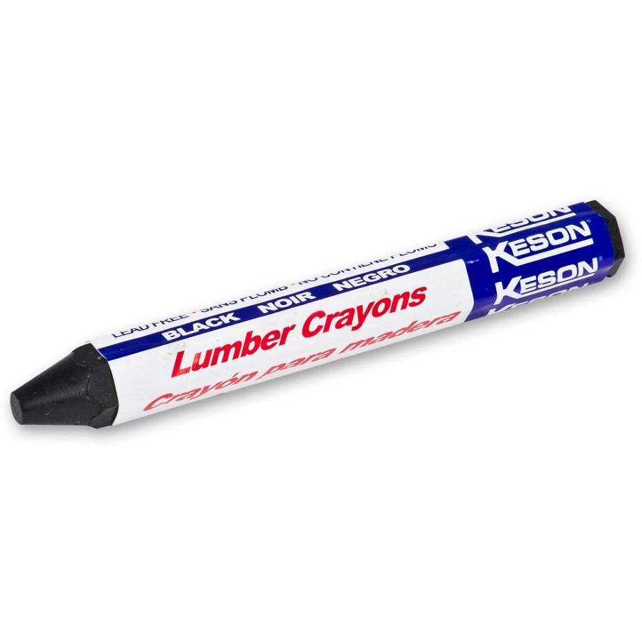 Keson Timber Marking Crayon - Black