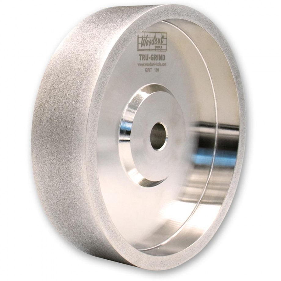 Woodcut Tru-Grind CBN Grinding Wheel 150 x 25 x 12.7mm 180grit