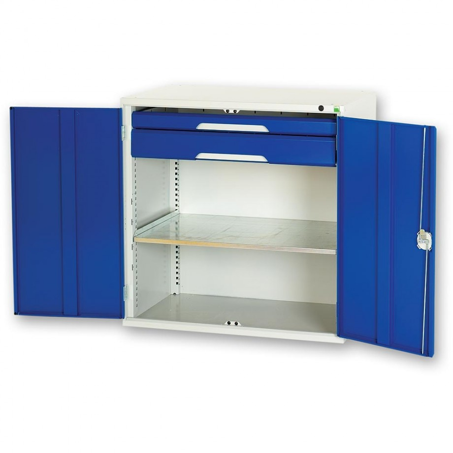 bott Verso 1,000mm Kitted Cupboard - 1 Shelf 2 Drawers