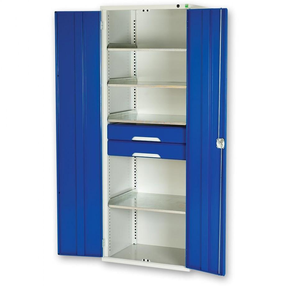 bott Verso Kitted Cupboard 4 Shelves 2 Drawers