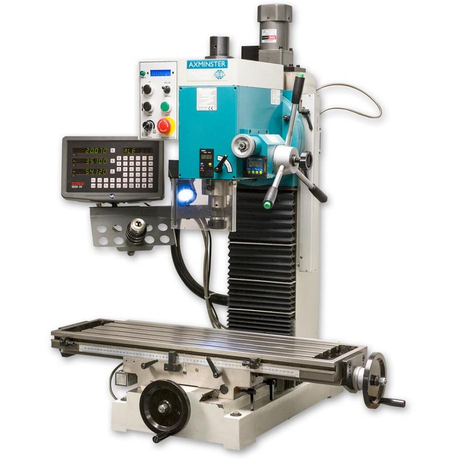Axminster Engineer Series SX4 Mill Drill DIGI