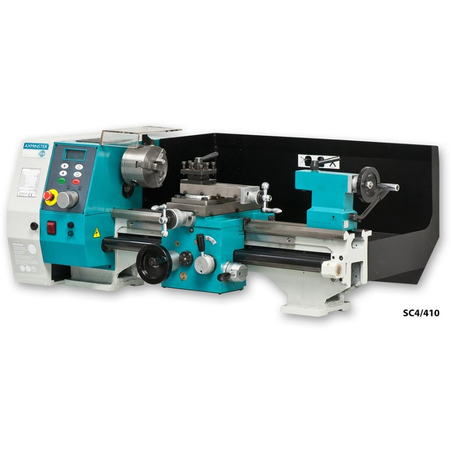 Axminster Engineer Series SC4 410 Bench Lathe & Stand - PACKAGE DEAL