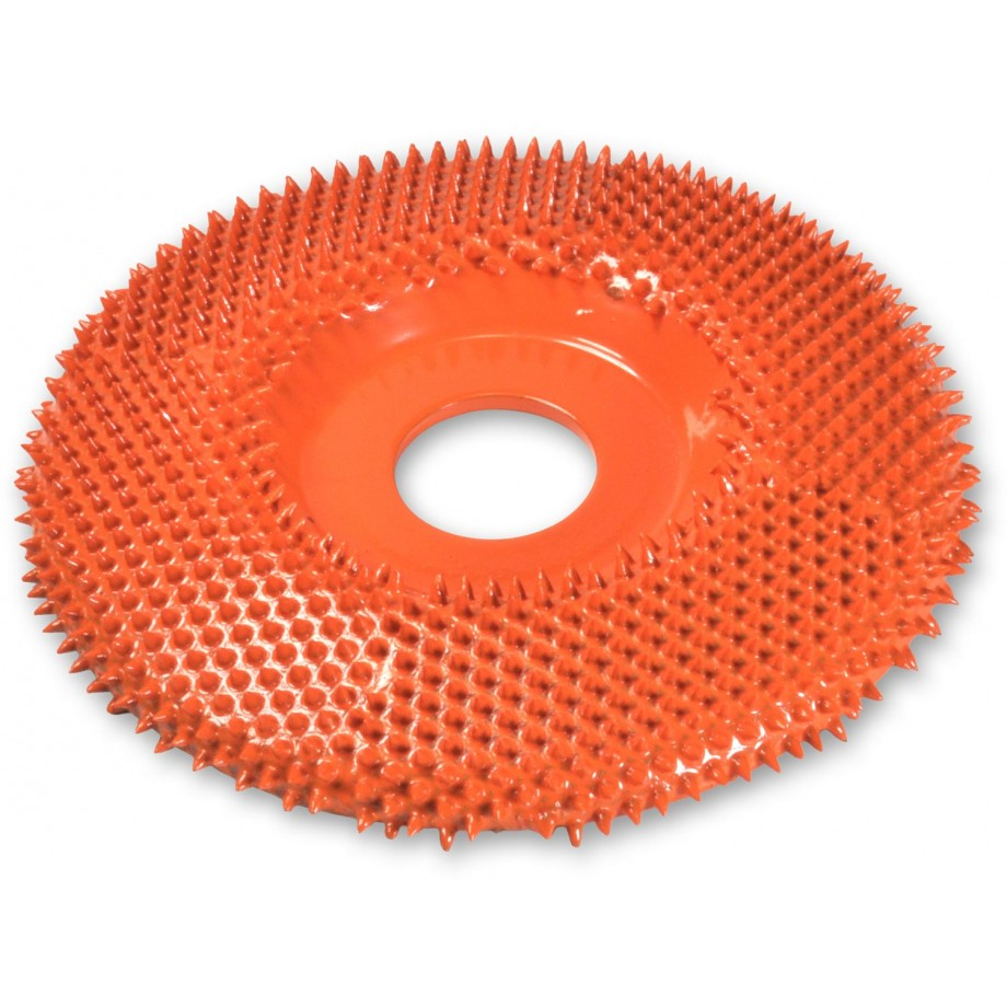 "Saburr Tooth Carbide Flat Face Disc 4"" (100mm)ø X Coarse"