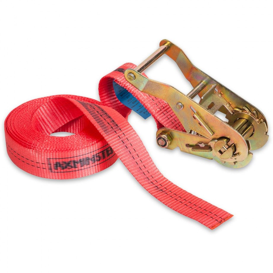 Axminster Trade Clamps Endless Ratchet Strap 35mm x 6m 4000kg