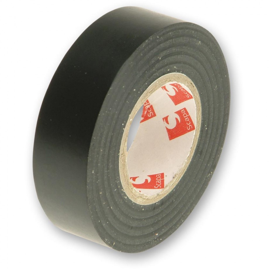 Faithfull PVC Electrical Tape Black