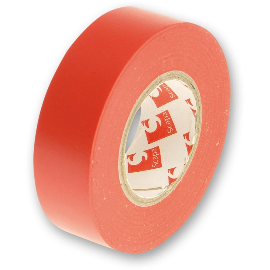 Faithfull PVC Electrical Tape Red