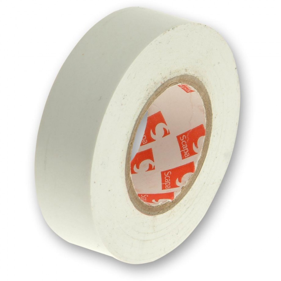 Faithfull PVC Electrical Tape White