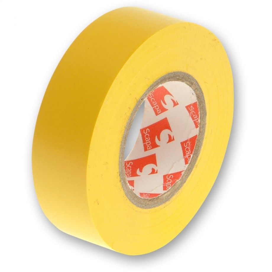 Faithfull PVC Electrical Tape Yellow