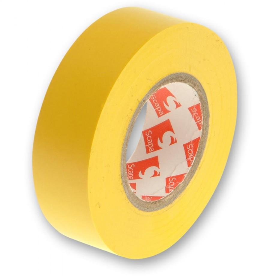 Faithfull PVC Electrical Tape Yellow