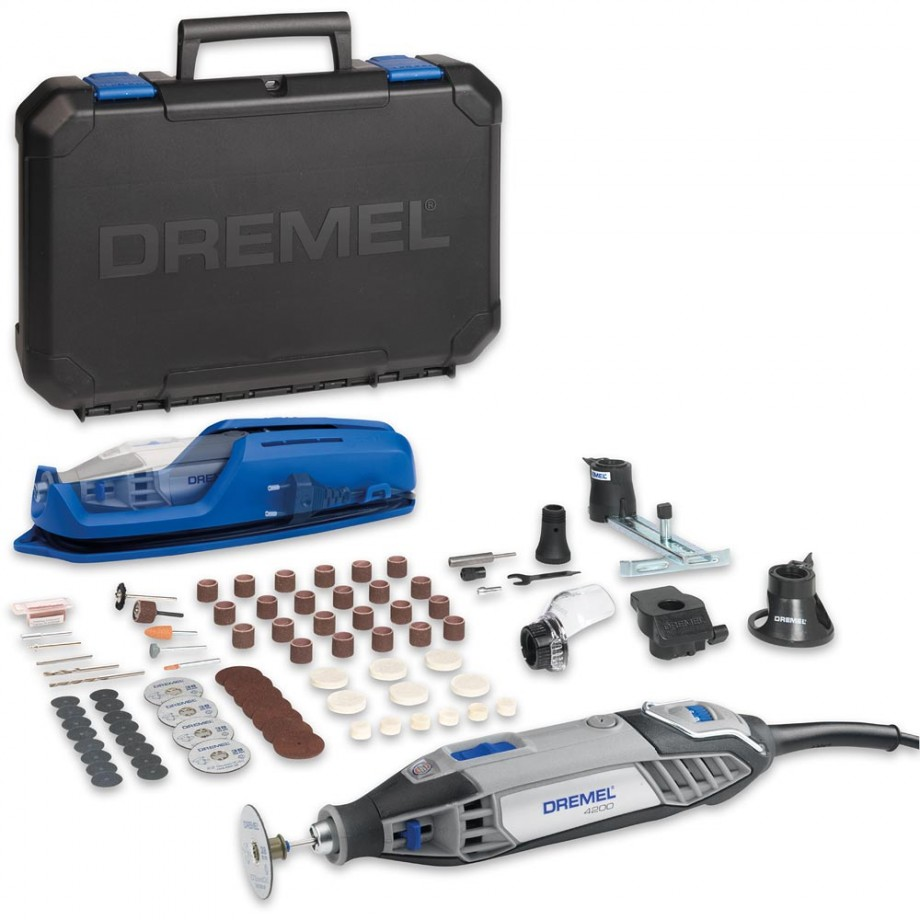 dremel 4200 4 75 multi tool with 75 accessories rotary multitools multitools precision. Black Bedroom Furniture Sets. Home Design Ideas