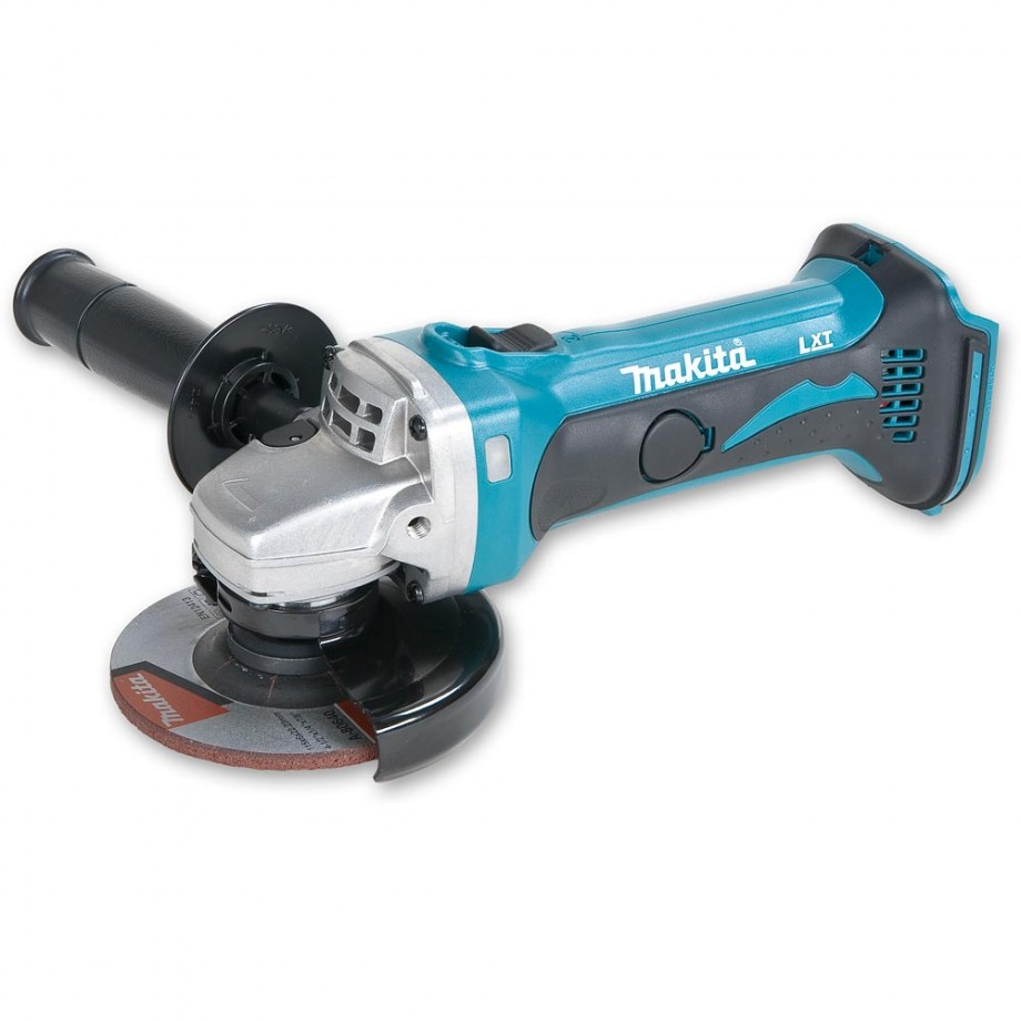 makita dga452z 115mm cordless angle grinder 18v body only cordless angle grinders angle. Black Bedroom Furniture Sets. Home Design Ideas