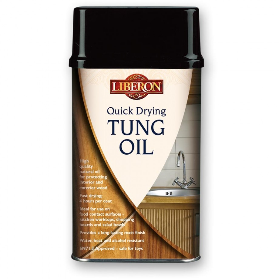 Liberon Quick-Drying Tung Oil - 250ml