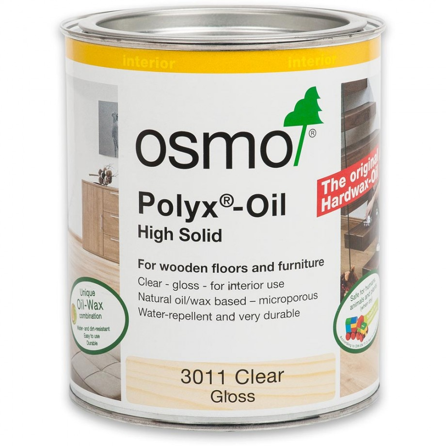 Osmo Polyx Hard-Wax Oil 3011 Gloss 750ml
