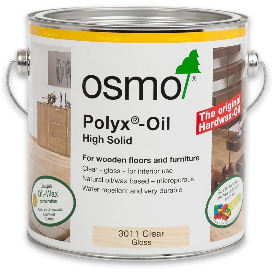 Osmo Polyx Hard-Wax Oil 3011 Gloss 2.5ltr