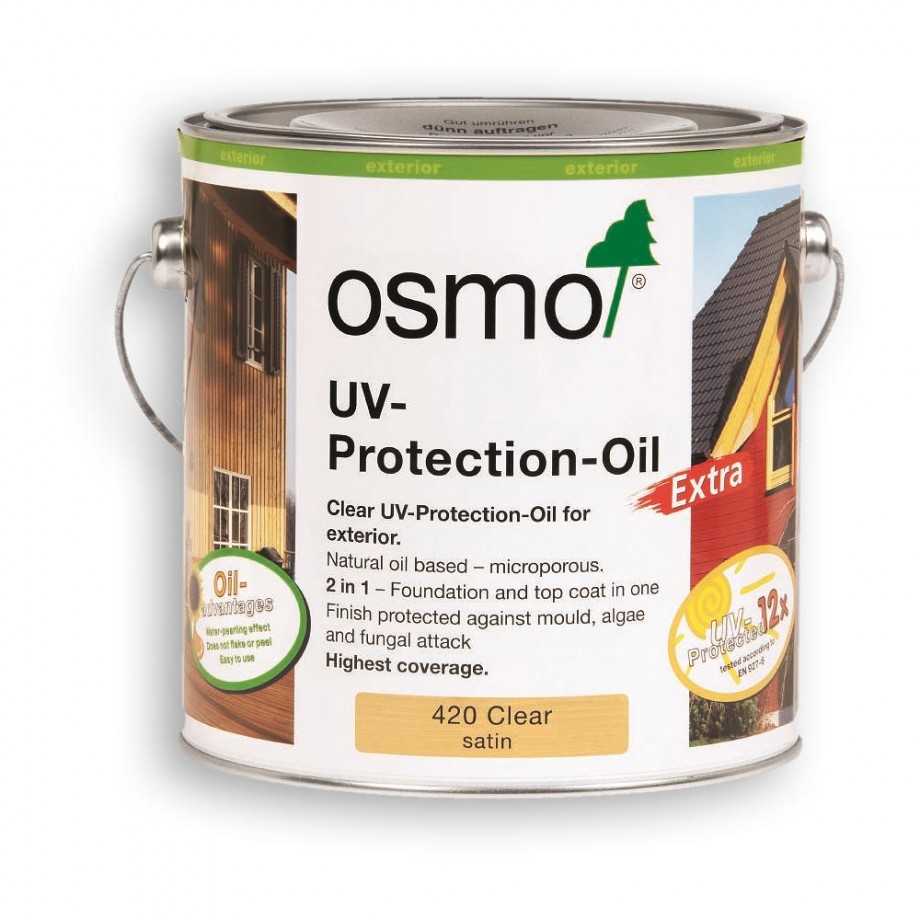 Osmo UV Protection Oil Natural 2.5 litre