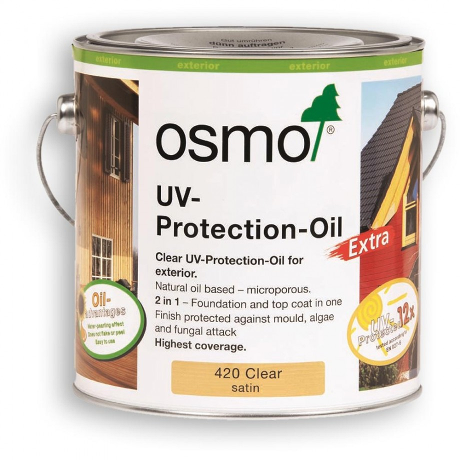 Osmo UV Protection Oil Extra 420 Clear 2.5 litre