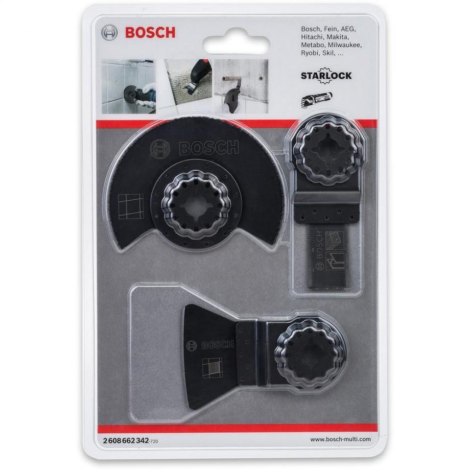 Bosch Tiling Multi-Tool Set (Starlock Fitting)