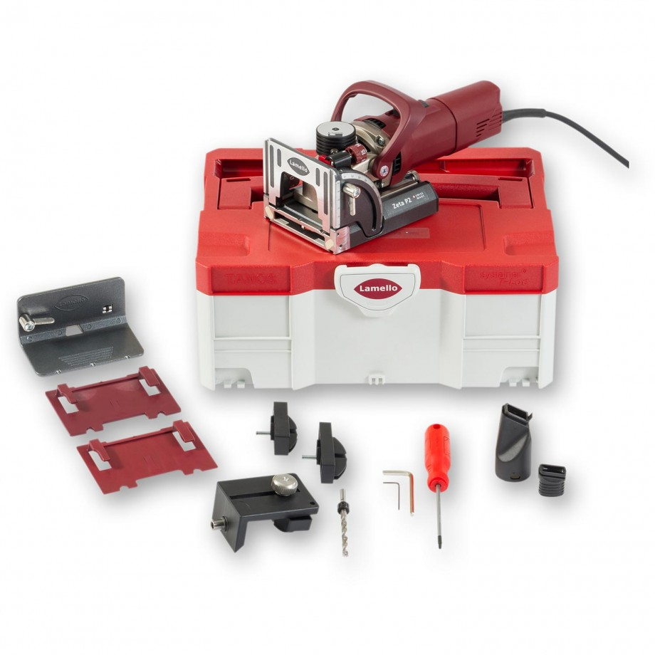 Lamello Zeta P2 Biscuit Jointer in Systainer Case with Diamond Blade