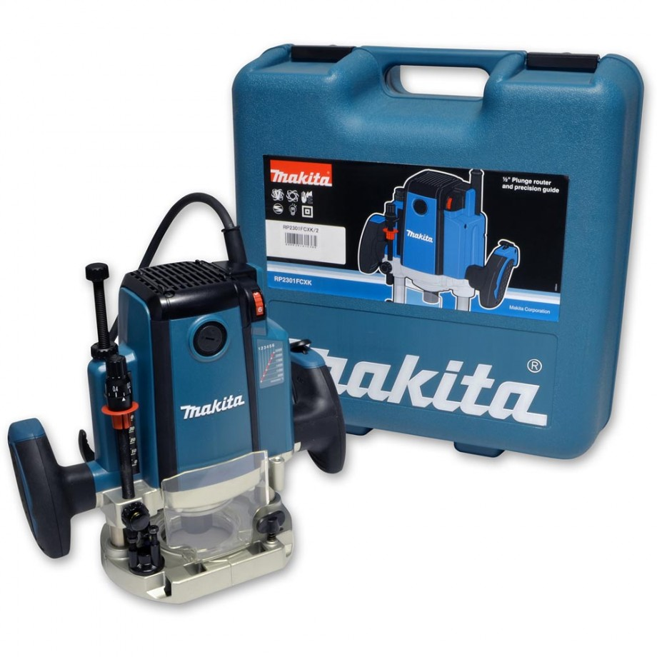 "Makita RP2301FCXK Router (1/2"") & Storage Case"
