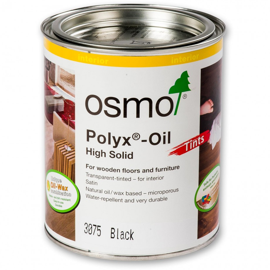 Osmo Polyx Oil 3075 Black 750ml