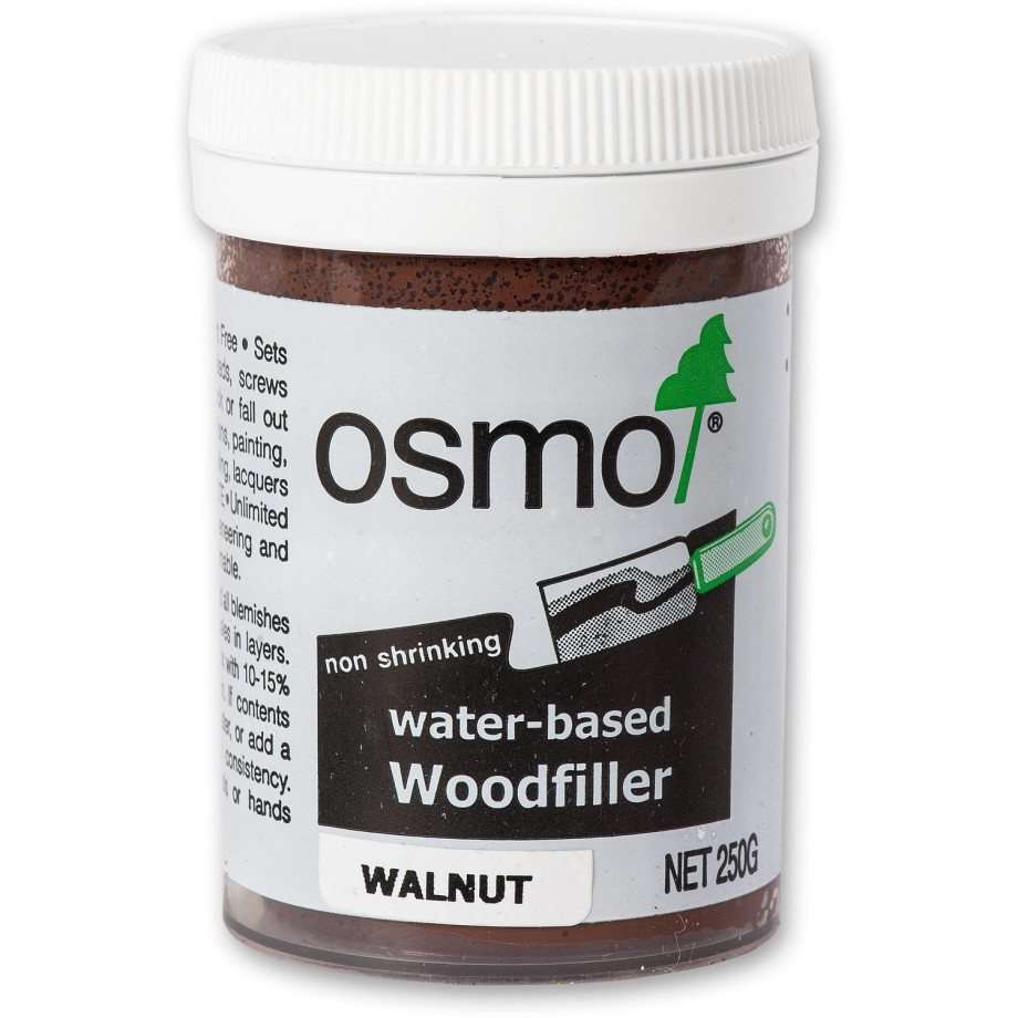 Osmo Water Based Wood Filler Walnut 250g