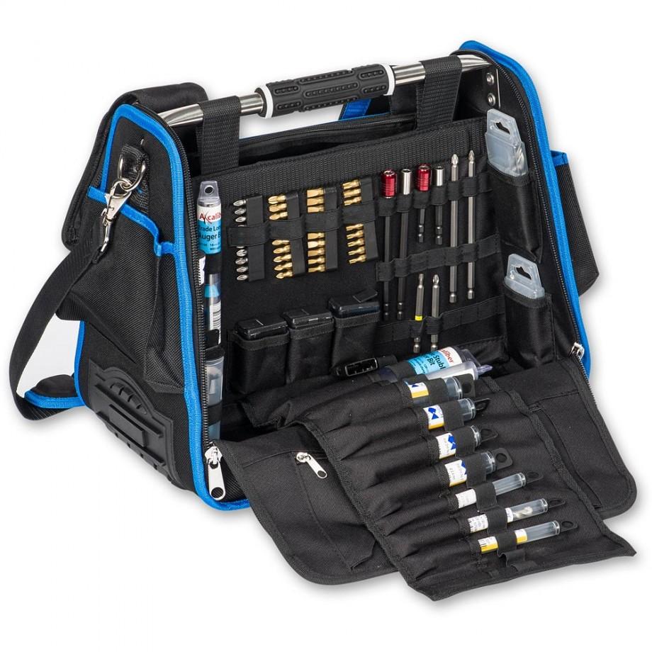 Axminster Tradesman Kit Bag & 102 Accessory Bits