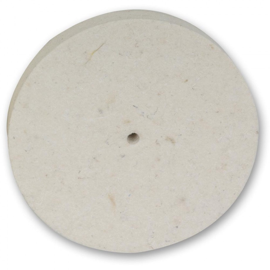 Proxxon Felt Cloth Polishing Disc 100 x 15mm