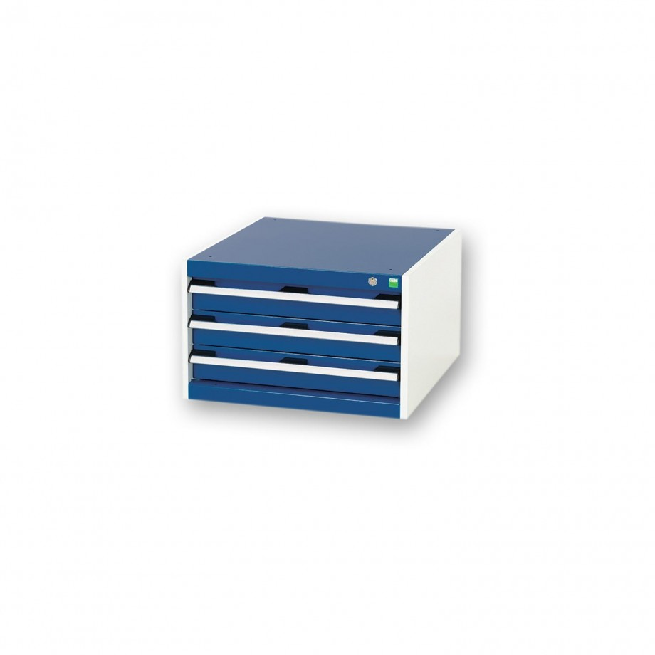 bott Cubio 3 Drawer Cabinet For Framework Bench
