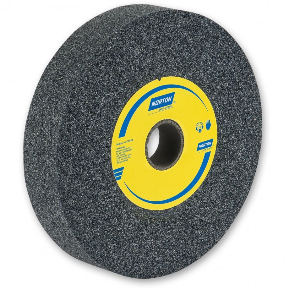Norton 200mm Grey Carborundum Grinding Wheels