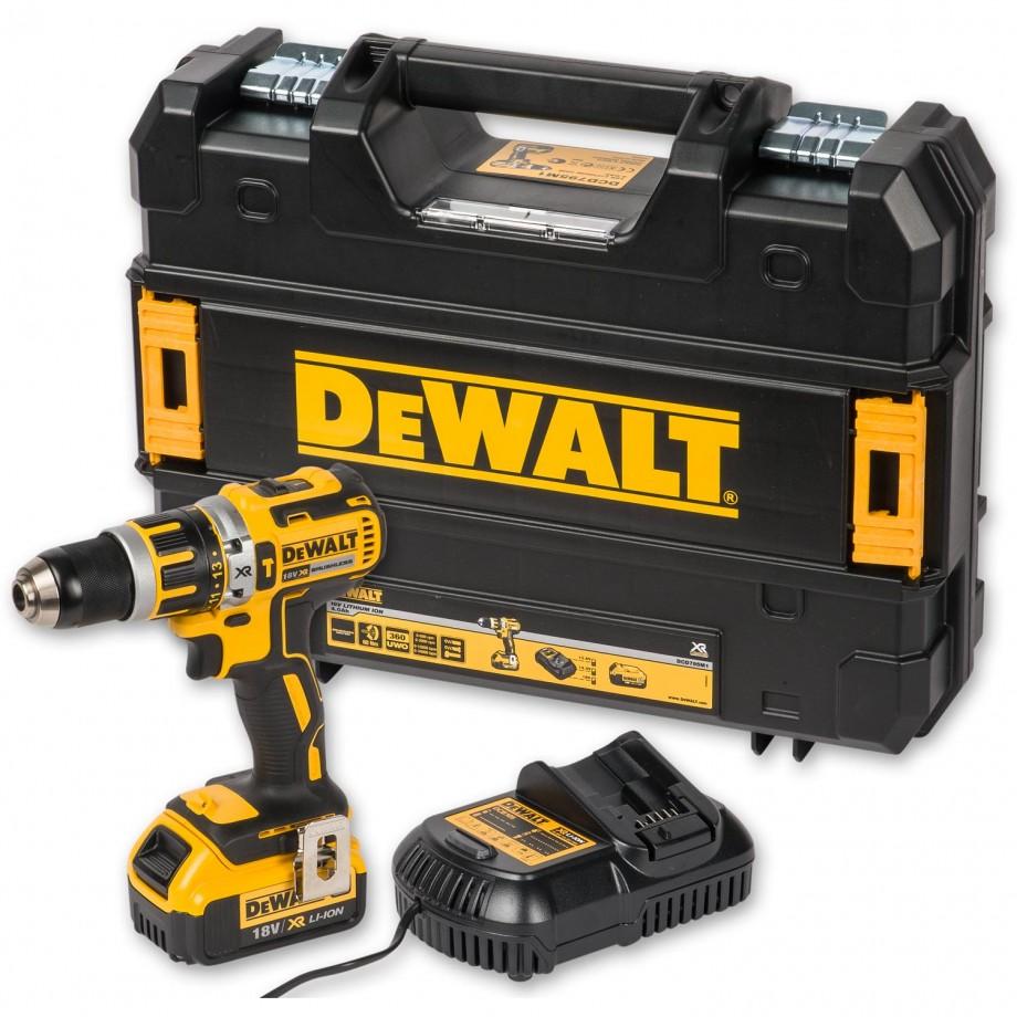 Dewalt Dcd795m1 Compact Brushless Combi 18v 4 0ah