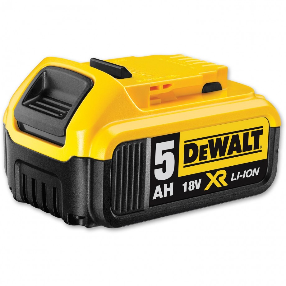 dewalt dcb184 li ion battery 18v 5 0ah batteries batteries chargers radios power tool. Black Bedroom Furniture Sets. Home Design Ideas