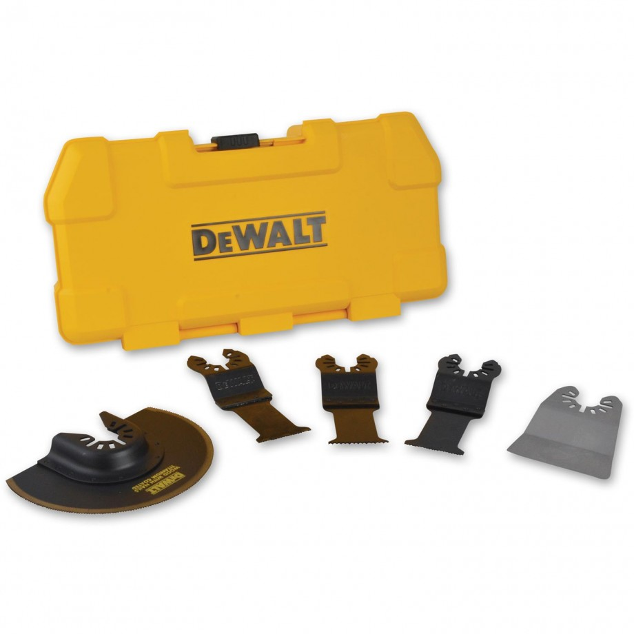 DeWALT DT20715 Multi-Tool 5 Piece Accessory Blade Set