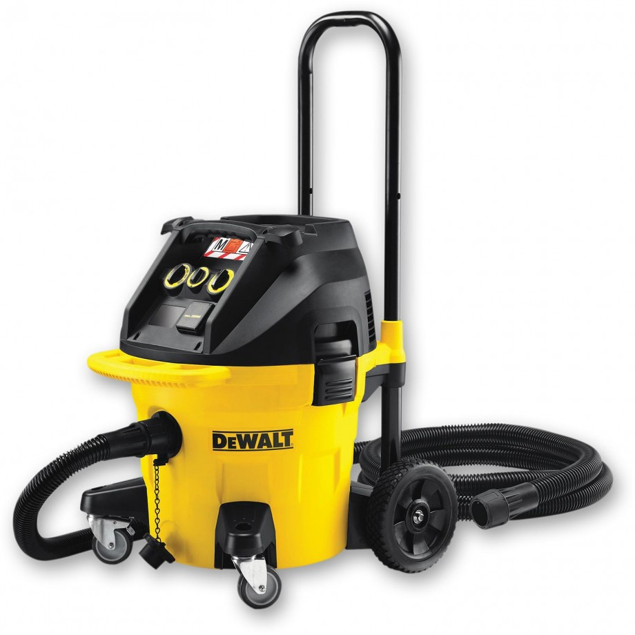 Dewalt Dust Extractor >> DeWALT DWV902M M-Class Dust Extractor - Power Tool ...