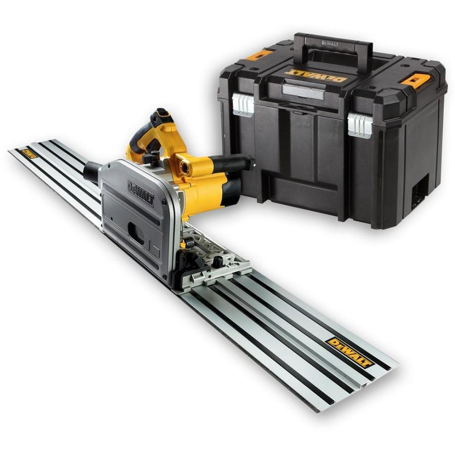 DeWALT DWS520KR Plunge Saw & 1.5m Guide Rail