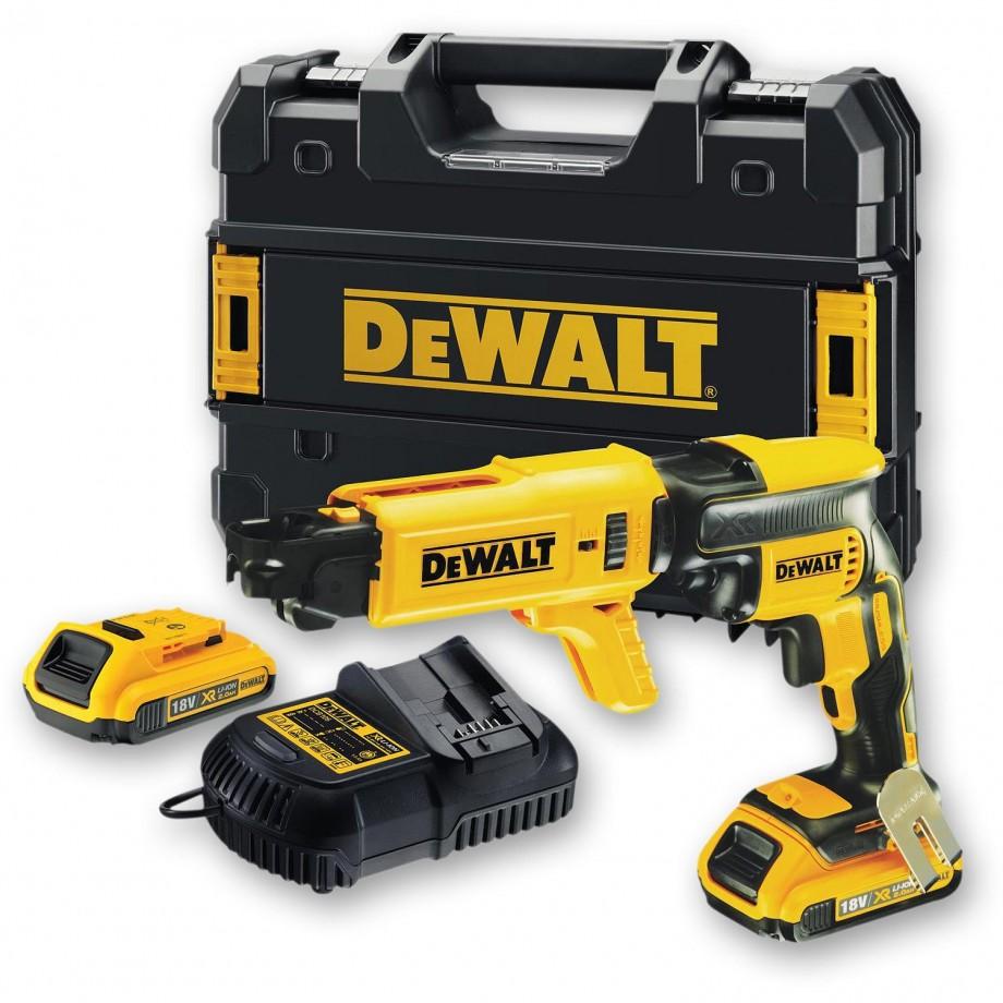 DeWALT DCF620D2K Brushless Drywall Screwdriver 18V (2.0Ah)