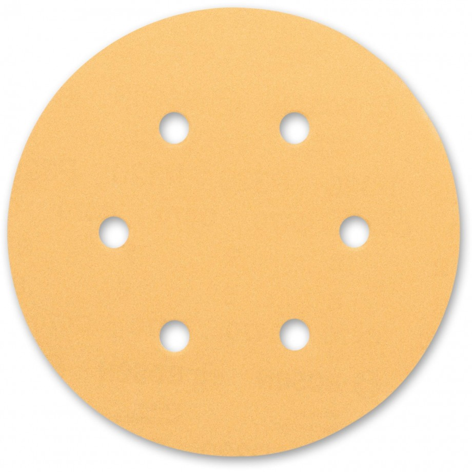 Bosch C470 Gold 150mm 6 Hole Abrasive Discs