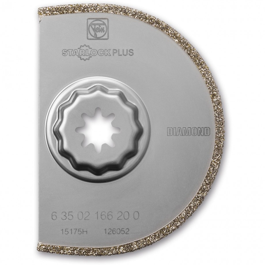 FEIN Diamond Coated Segmented Saw Blade 166 (Starlock Plus)