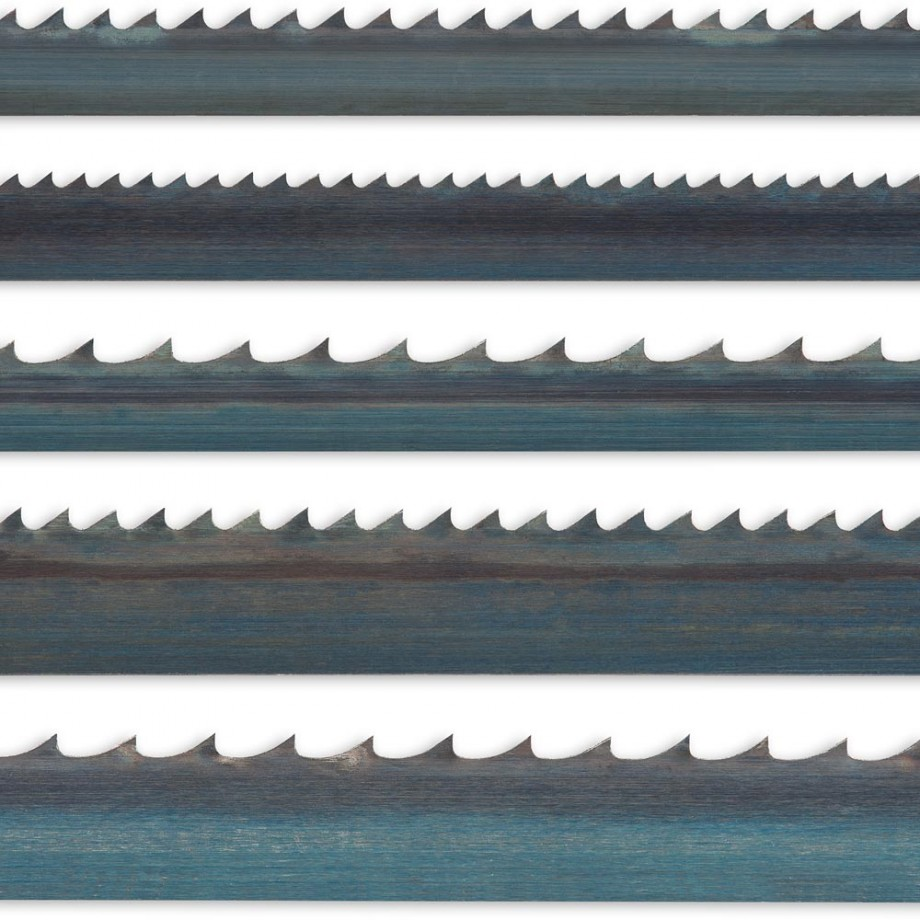 "Pack of 5 Bandsaw Blades 2,552mm(100.1/2"")"