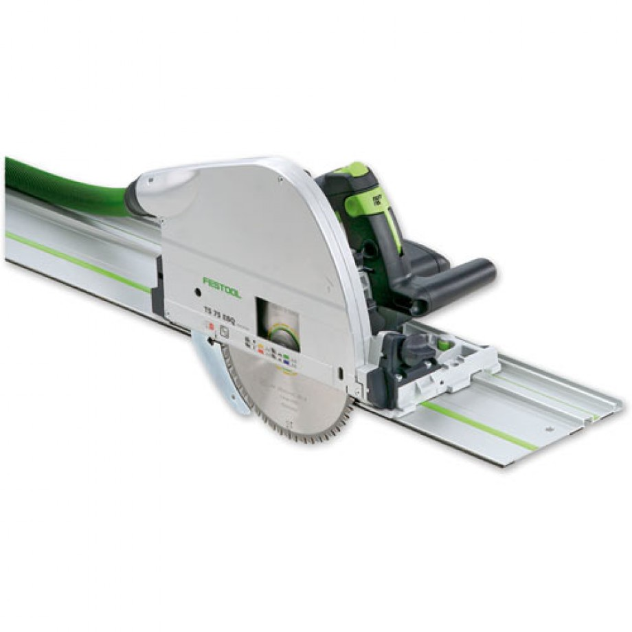 Festool TS 75 EBQ-Plus-FS Plunge Saw & 1,400mm Guide Rail