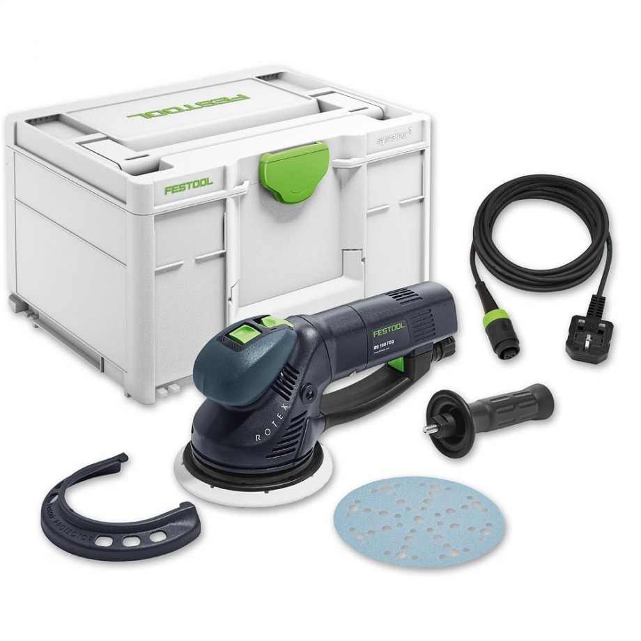 Festool RO150 FEQ- Plus Rotex Sander - 110V