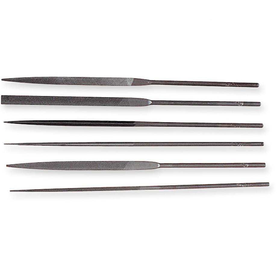 Genuine Swiss 6 Piece Needle File Set